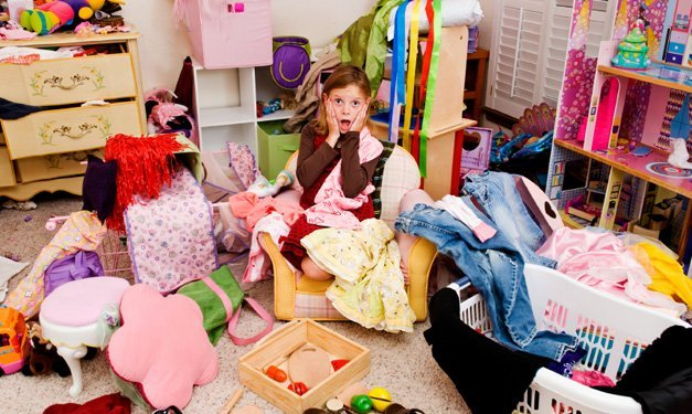 Messy Kids Room Before And After 7 basics for getting kids to clean their rooms