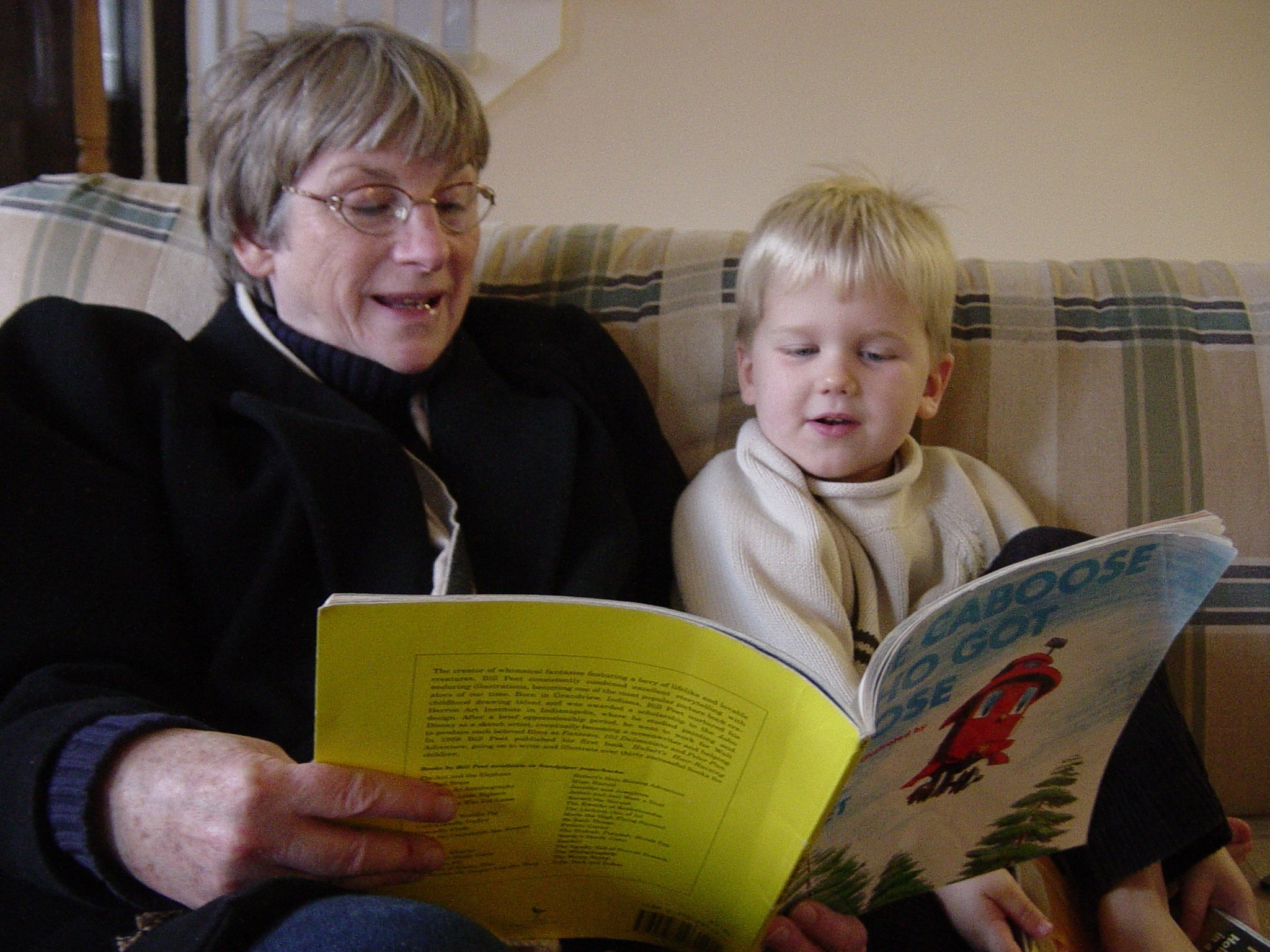 reading to a child